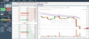 Plataforma comercial BitMex