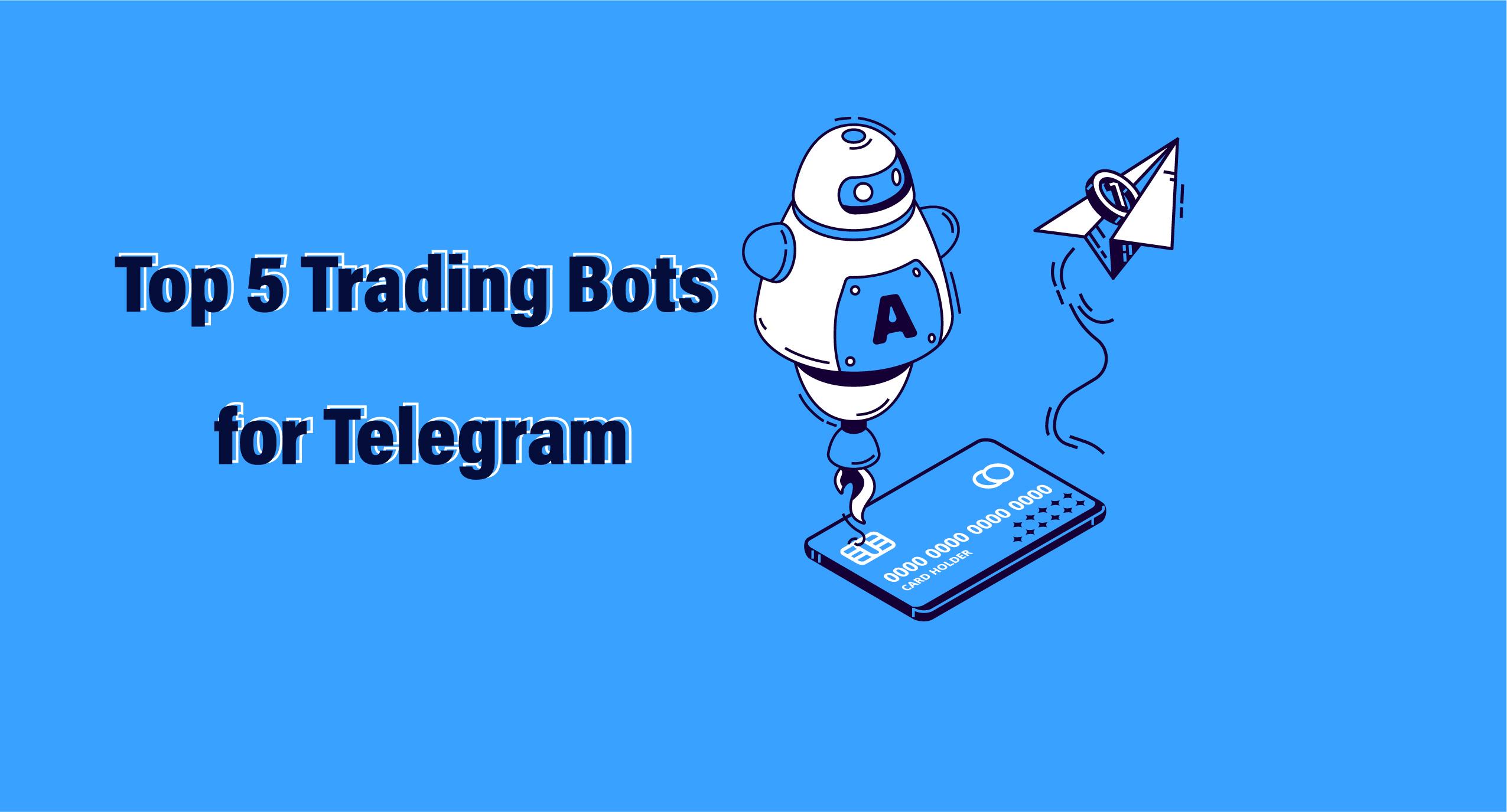 5 Bot Telegram utili per il tuo trading sulle Criptovalute.