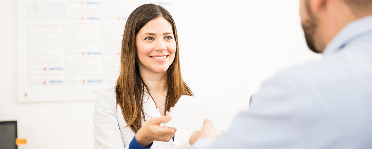 The right script will make it easier for your office to capture new out-of-network patients.