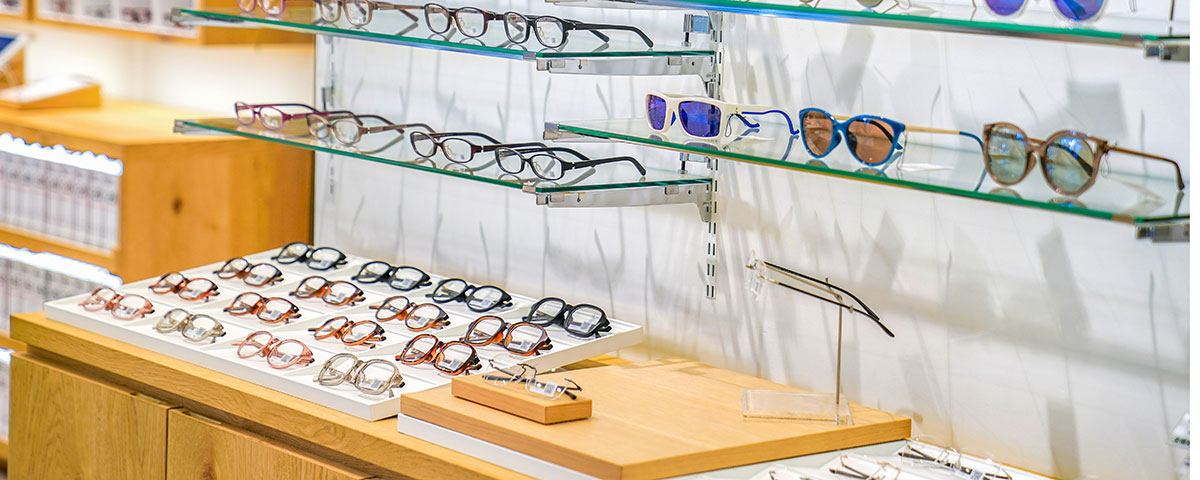 The right frame display can help you maximize optical sales.