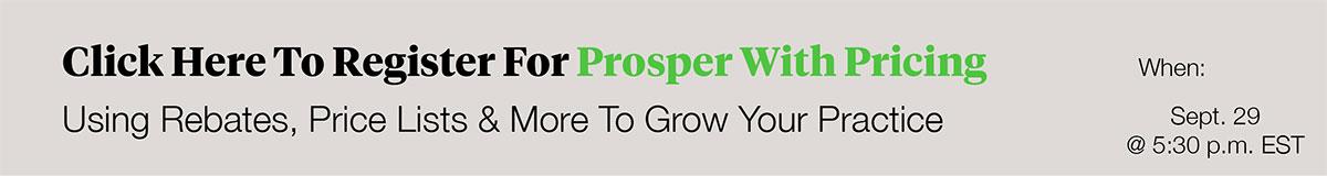 prosper with pricing webinar registration