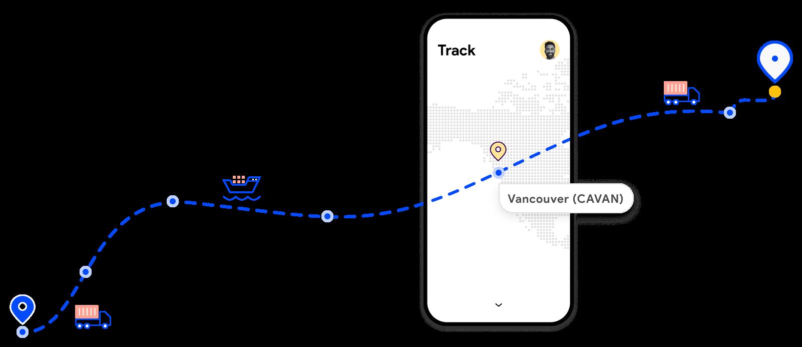 Track your shipment milestones