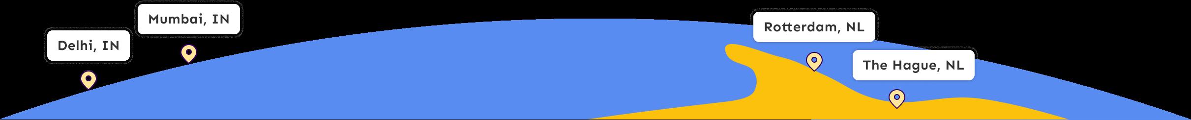 Cogoport world map