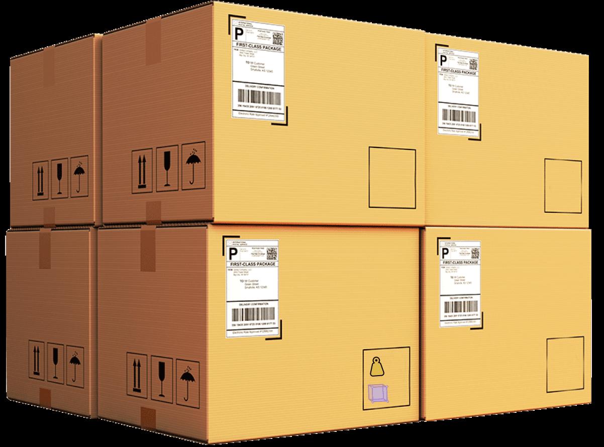 Air cargo boxes