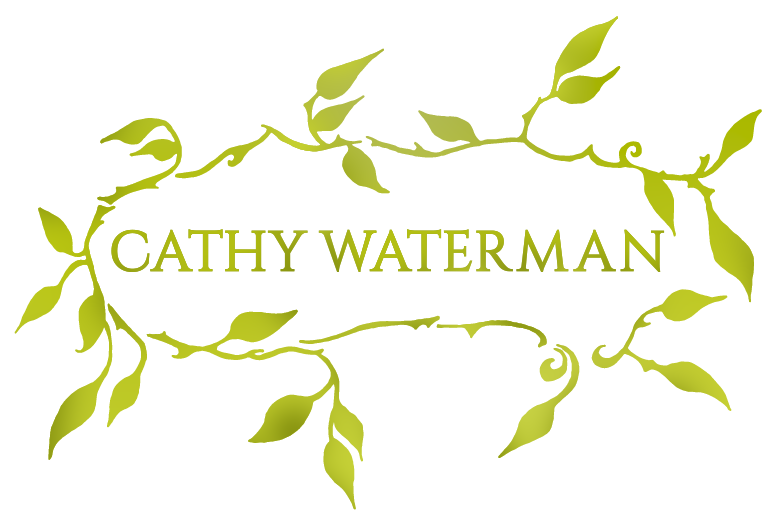 Cathy Waterman wreath logo