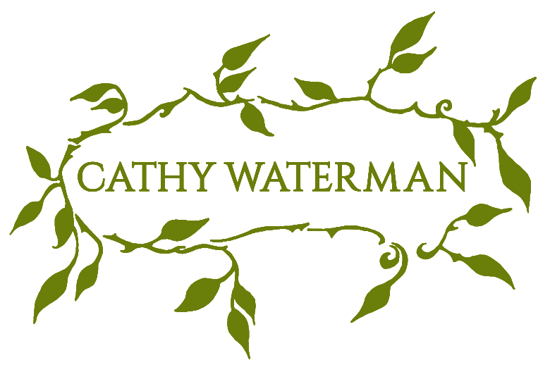 Cathy Waterman wreath logo link to top of page
