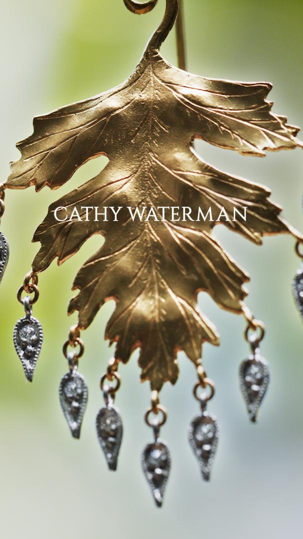 Photo of Cathy Waterman leaf earring