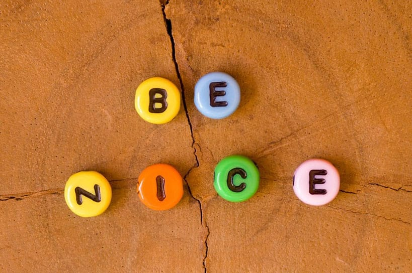 The Golden Rule For Growth: Be Nice