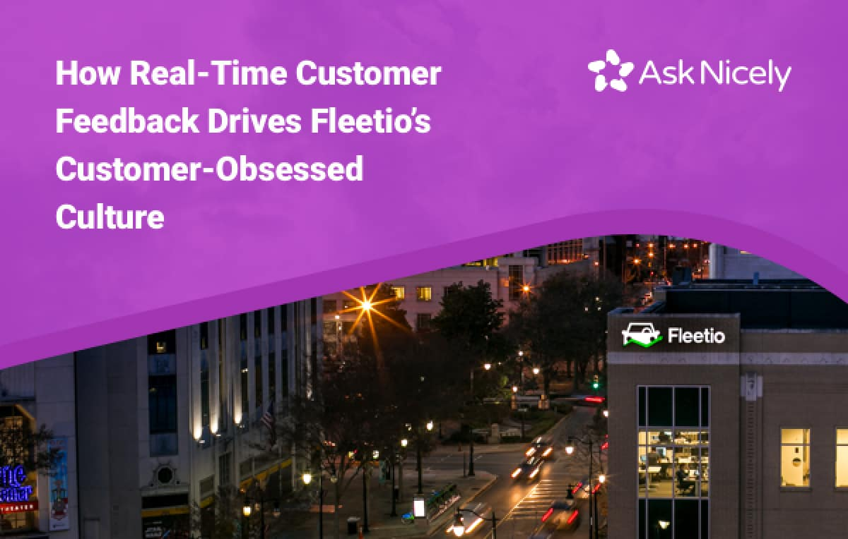 How Fleetio used AskNicely to understand complex customer needs at scale.