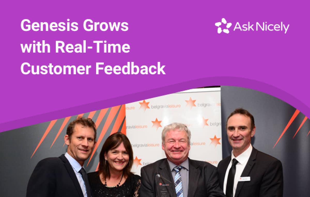 By overhauling their customer feedback system and actioning their NPS, Genesis saw real results.