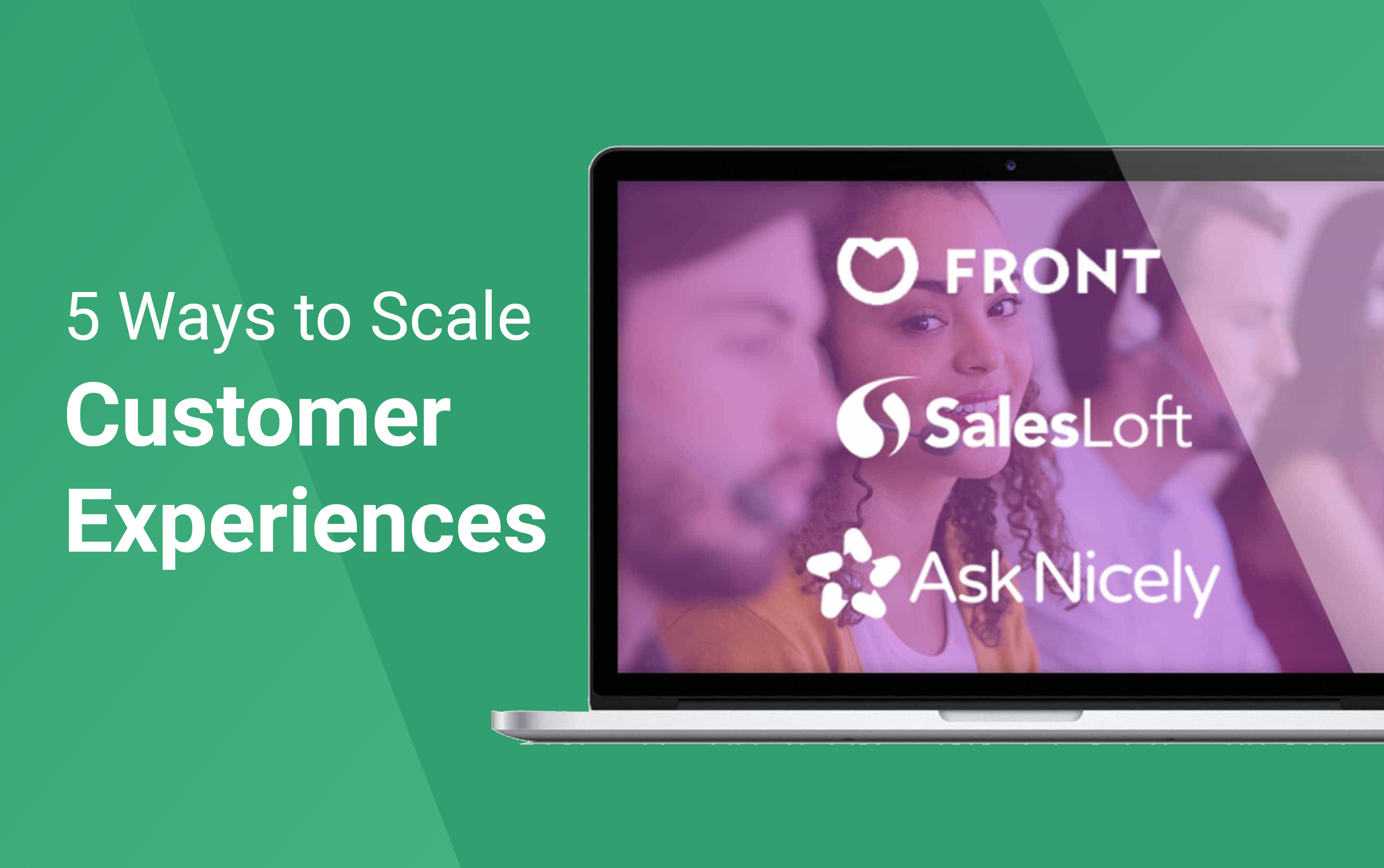 Create amazing customer experiences and maintain that magic at scale.