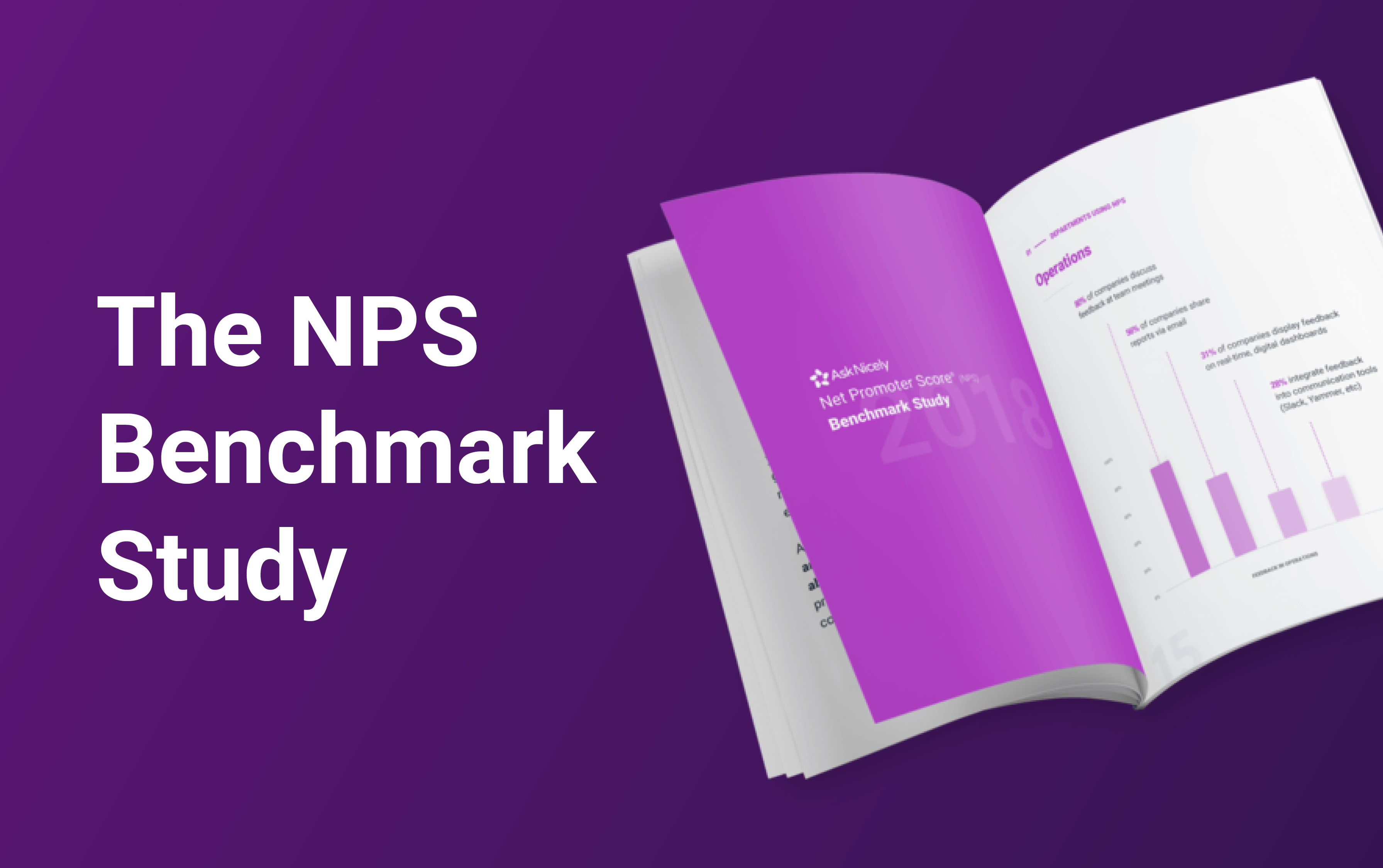 The definitive study into industry best practice and success stories when using Net Promoter Score to measure customer satisfaction.