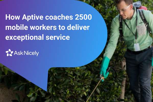 Aptive is on a mission to disrupt the pest control industry with awesome customer experience.
