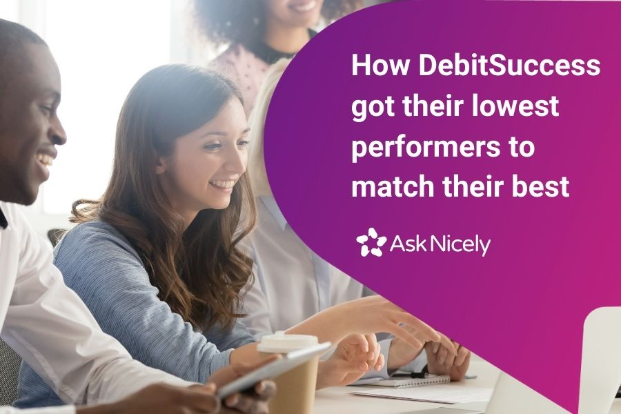 Download the case study to find out how DebitSuccess brought customer feedback into all of their coaching conversations.