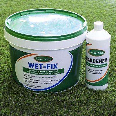 Tub of WetFix Artificial Grass Adhesive