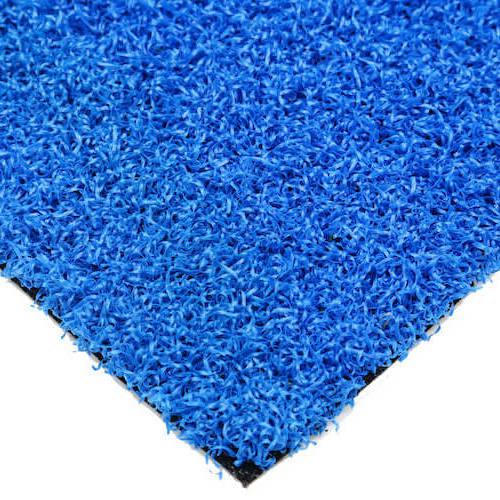 Luxury Blue Coloured Schools Artificial Grass