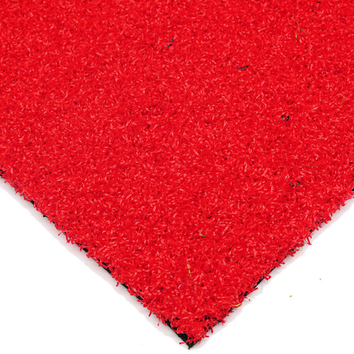 Luxury Red Coloured Schools Artificial Grass