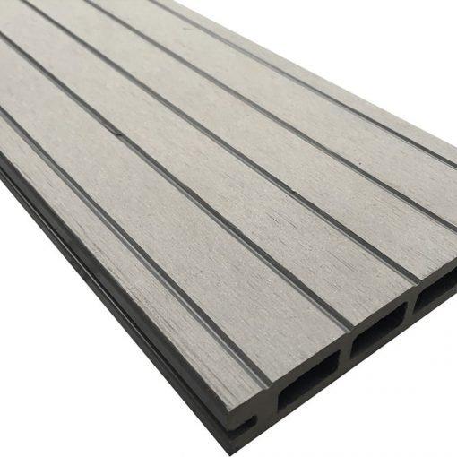 Luxury Grey Reversible Composite Wood Decking Kit 2.9m Boards (Price per sqm/£25 per board)
