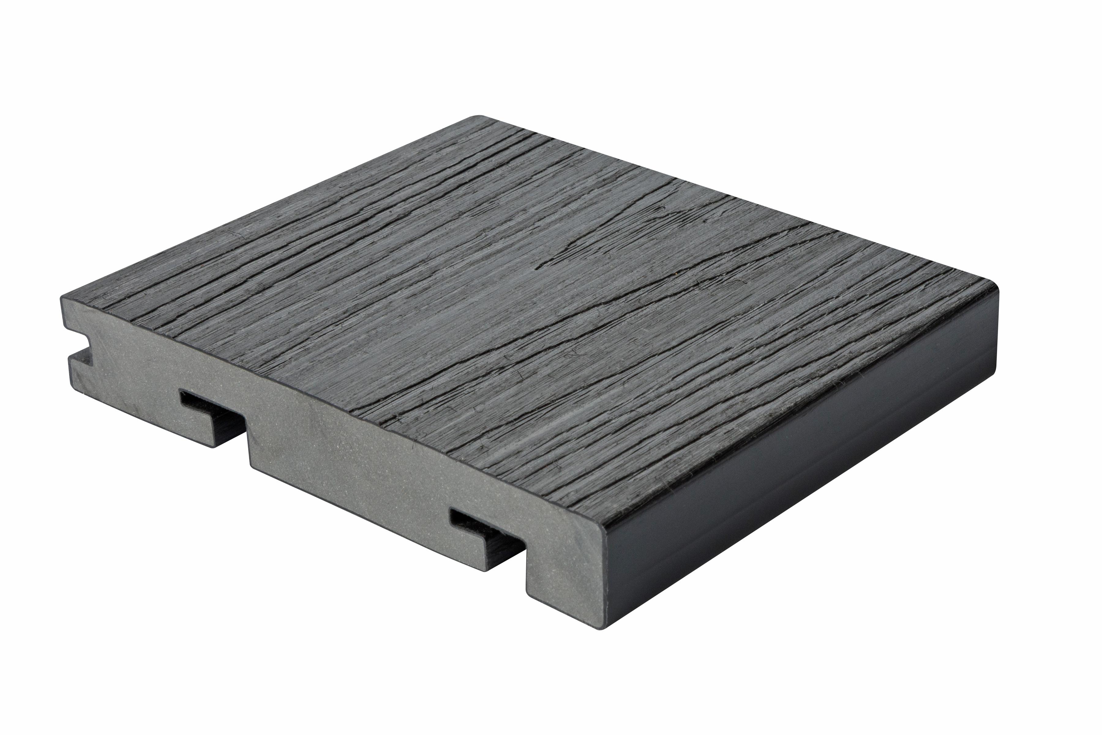 HD Deck Dual Bullnose Carbon 22.5xx x 150mm x 3600mm
