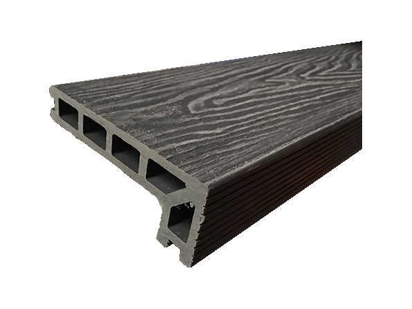 Woodgrain Composite Decking Step Edging Board 3.6m