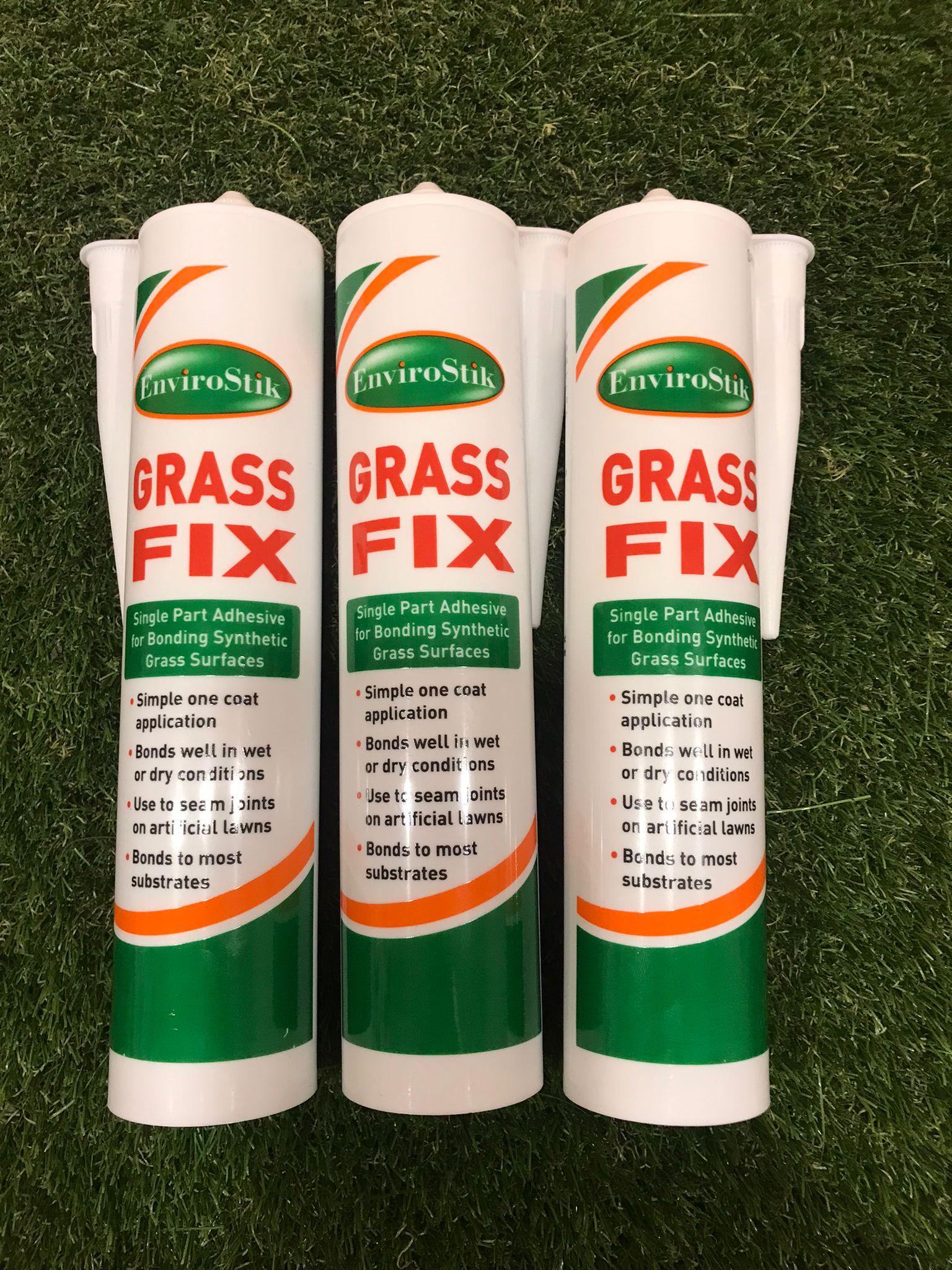 3 x Envirostik Grass Fix 310ml Adhesive