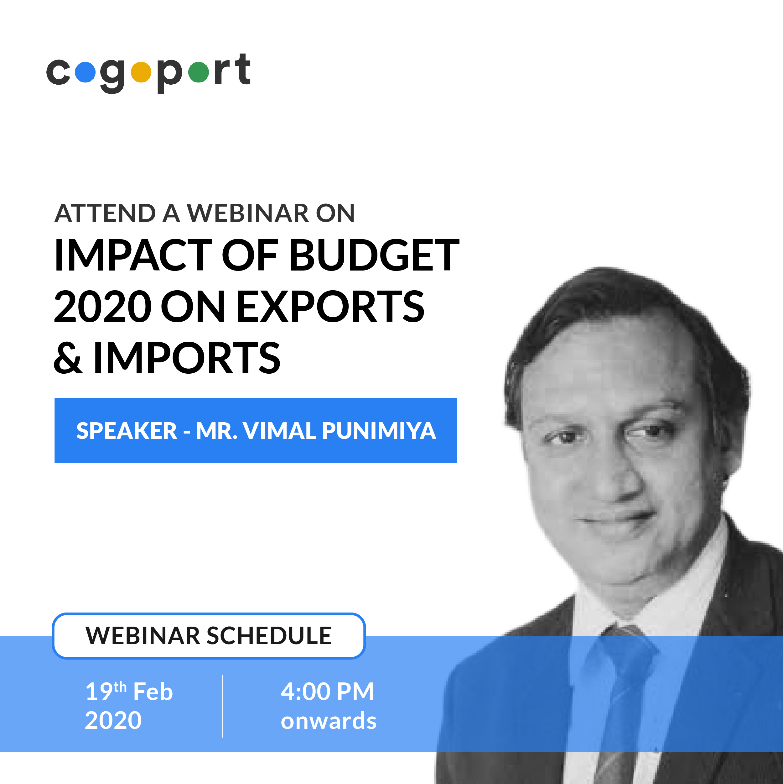 Impact of India's Finance Budget 2020 on your Export or Import Business