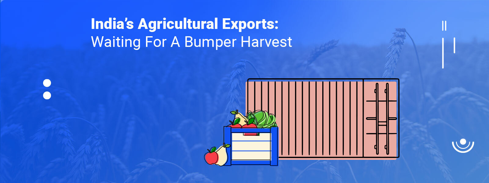 India's Agricultural Exports: Waiting For A Bumper Harvest