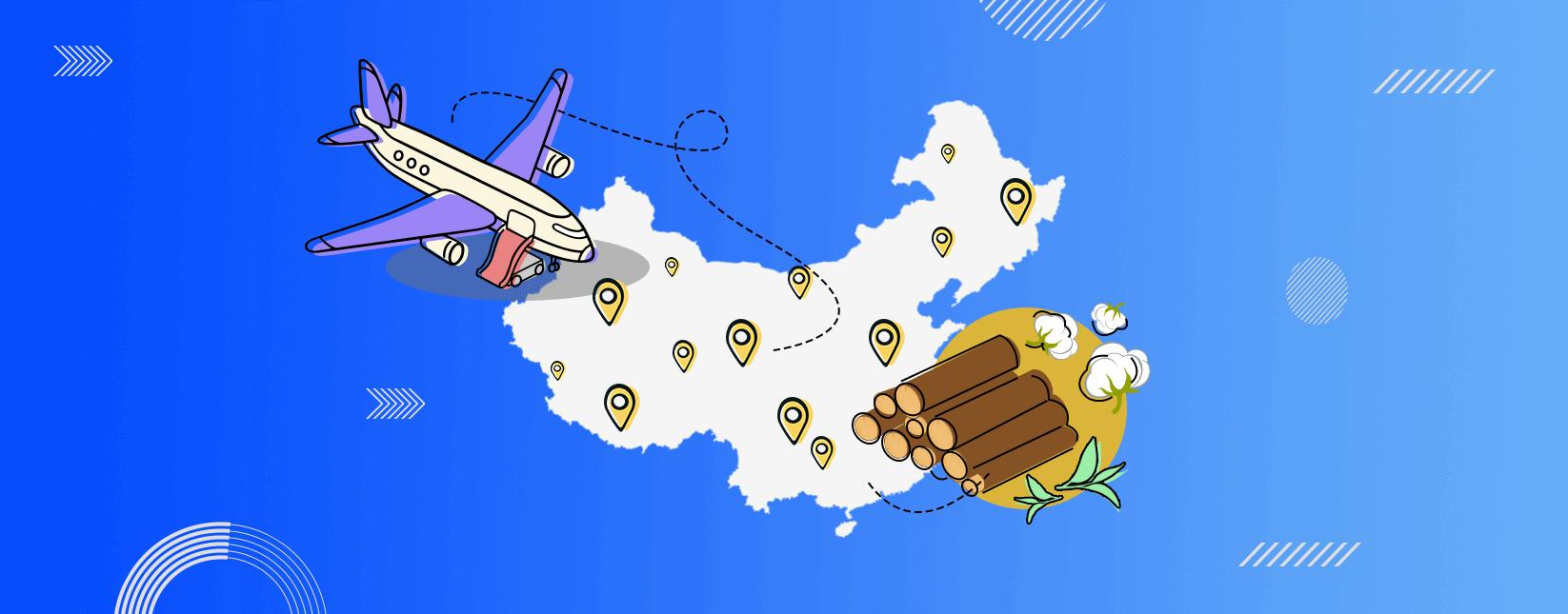 Top Cargo Handling China Airports