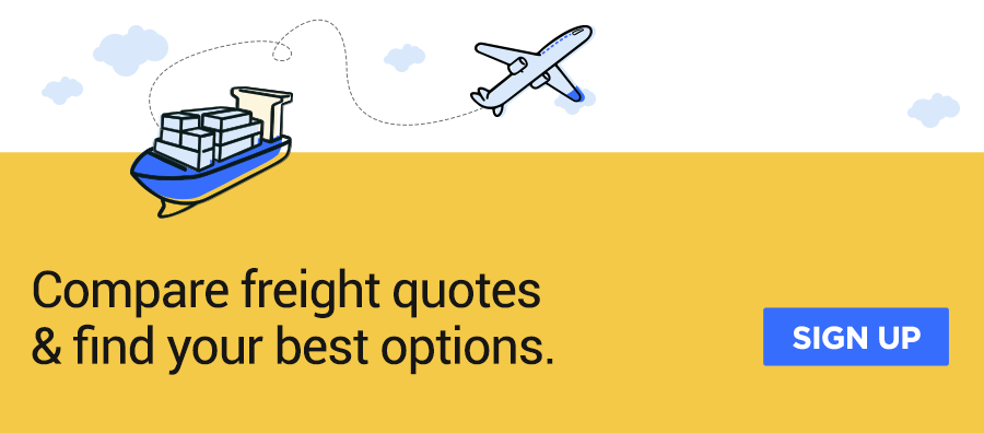 Compare freight quotes and find your best options on Cogoport