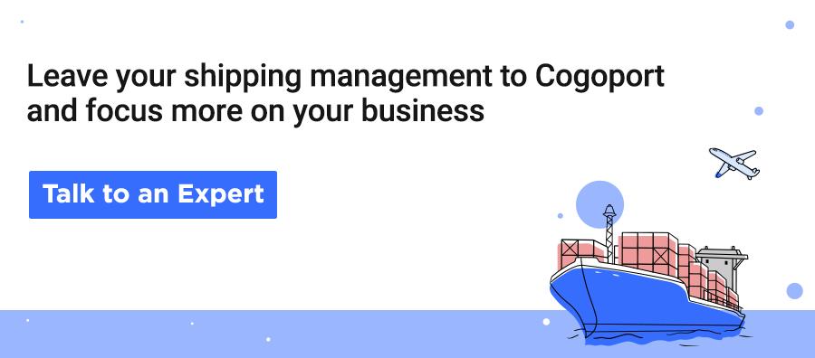 Leave your international logistics management to Cogoport