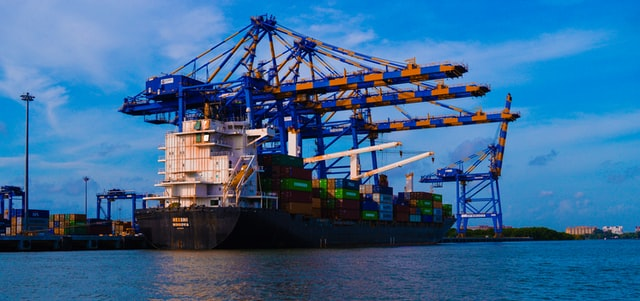 The Kochi port is India's only transshipment port. The majority of India's exports are transshipped through ports in Colombo, Singapore, and Malaysia.