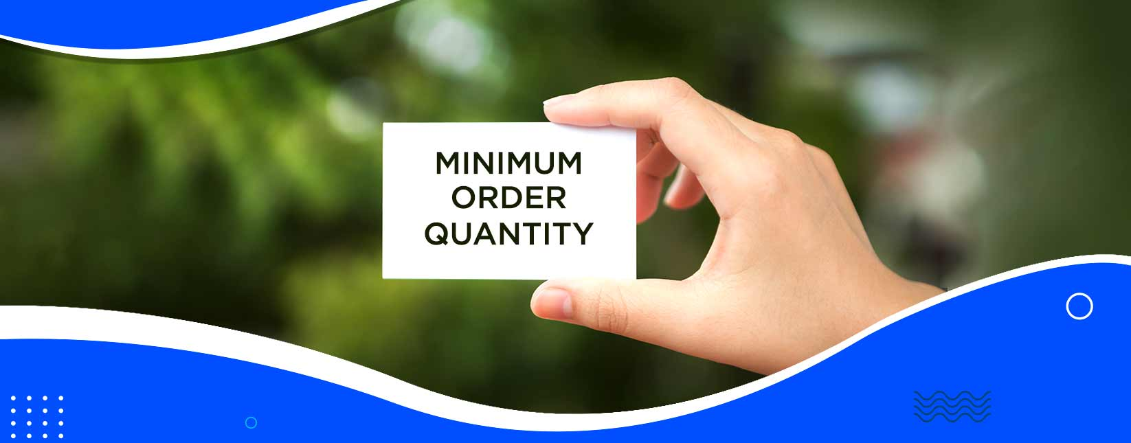 MOQ: Why China Suppliers Insist on Minimum Order Quantity
