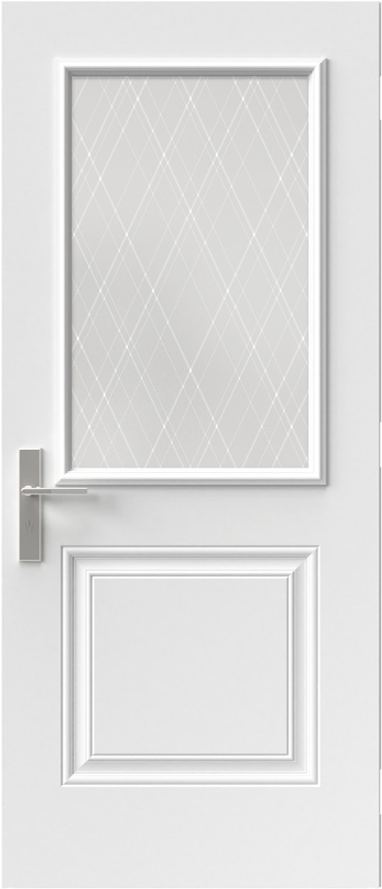 "Novatech Arum Contemporary Doorlite Glass 22"" x 36"""