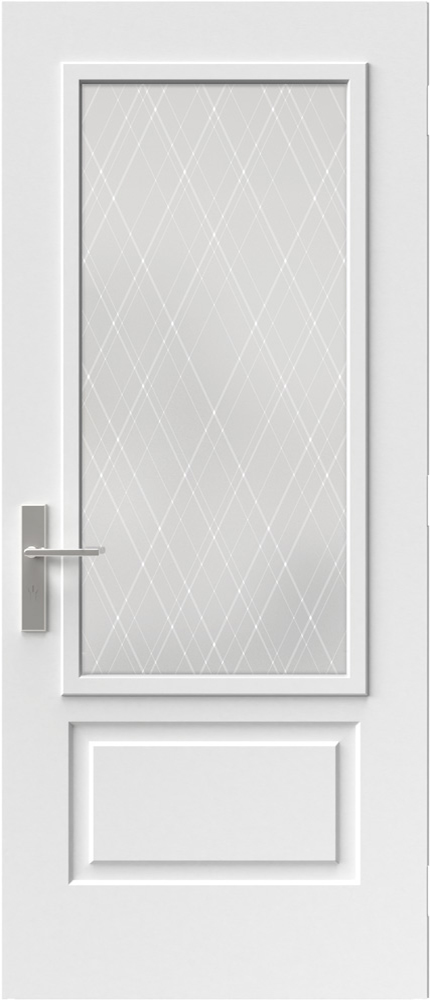 "Novatech Arum Contemporary Doorlite Glass 22"" x 48"""