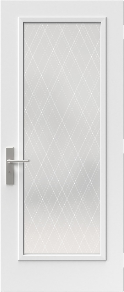 "Novatech Arum Contemporary Doorlite Glass 22"" x 64"""