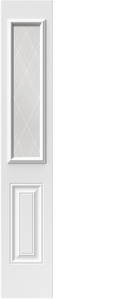 "Novatech Arum Contemporary Doorlite Glass 8"" x 36"""