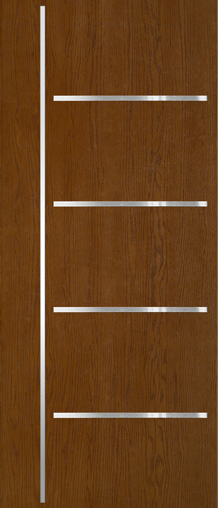 "6'8"" Fiberglass Oak Stainless Steel (WGSS04)"