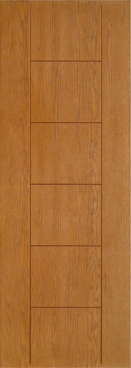 """8'0"""" Fiberglass Oak Grooved (WC12)"""