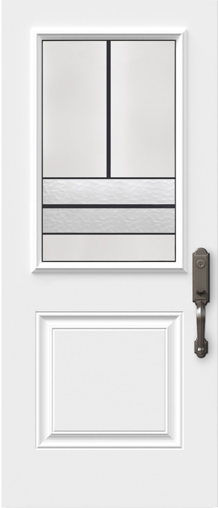 "Novatech Avenue Contemporary Doorlite Glass 22"" x 36"""