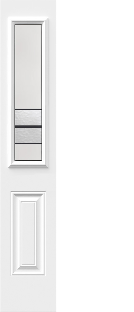 "Novatech Avenue Contemporary Doorlite Glass 8"" x 36"""
