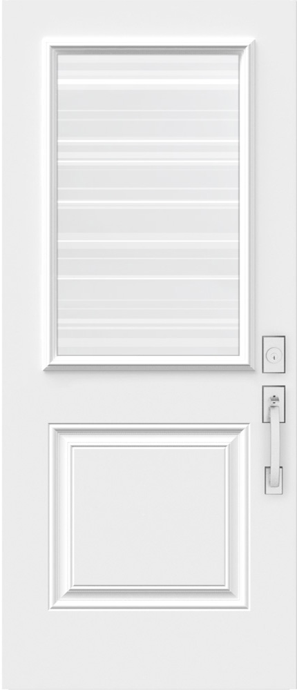 "Novatech Azur Contemporary Doorlite Glass 22"" x 36"""