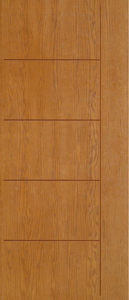 """6'8"""" Fiberglass Oak Grooved (WC01)"""