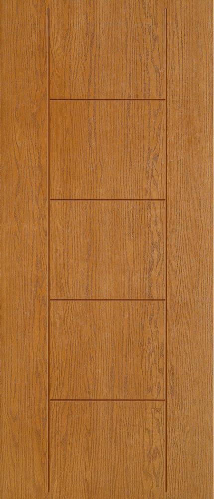 """6'8"""" Fiberglass Oak Grooved (WC02)"""