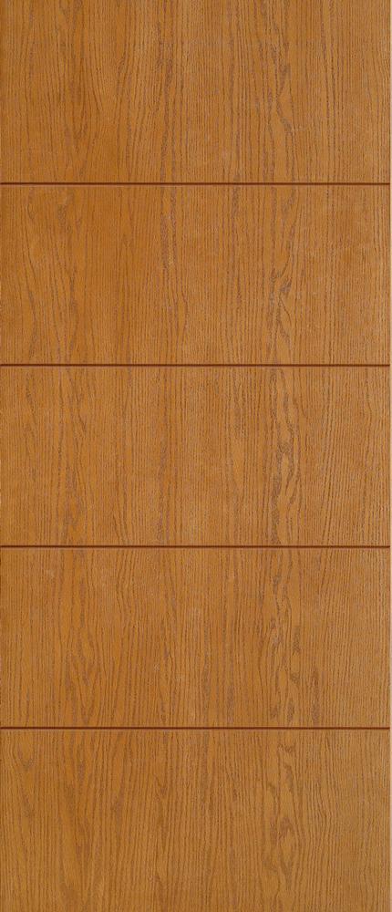 """6'8"""" Fiberglass Oak Grooved (WC03)"""