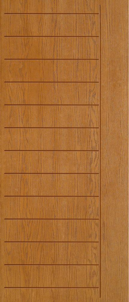 """6'8"""" Fiberglass Oak Grooved (WC06)"""