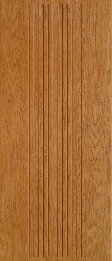 """6'8"""" Fiberglass Oak Grooved (WC07)"""
