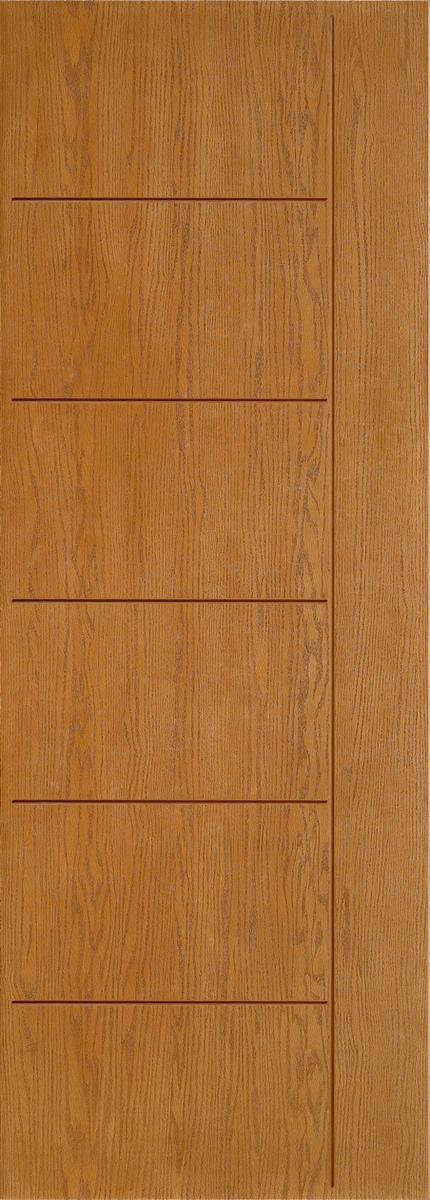 """8'0"""" Fiberglass Oak Grooved (WC11)"""