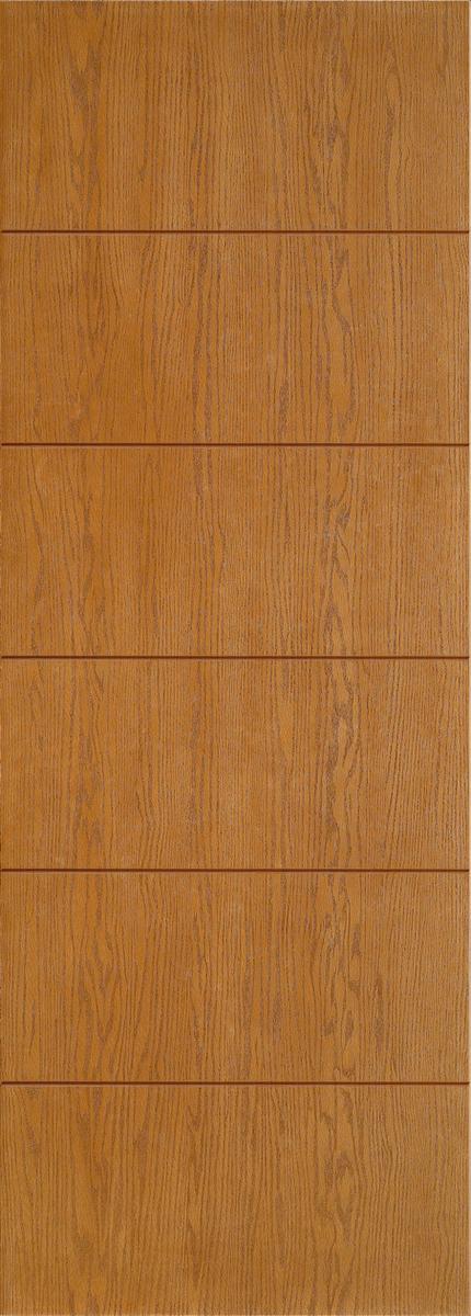 """8'0"""" Fiberglass Oak Grooved (WC13)"""