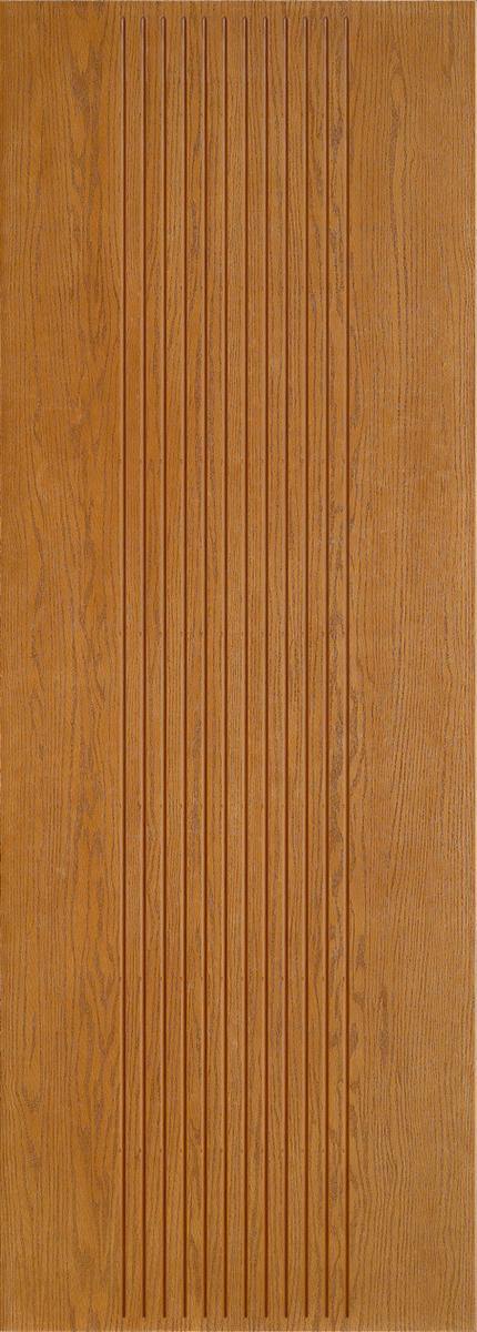 """8'0"""" Fiberglass Oak Grooved (WC17)"""