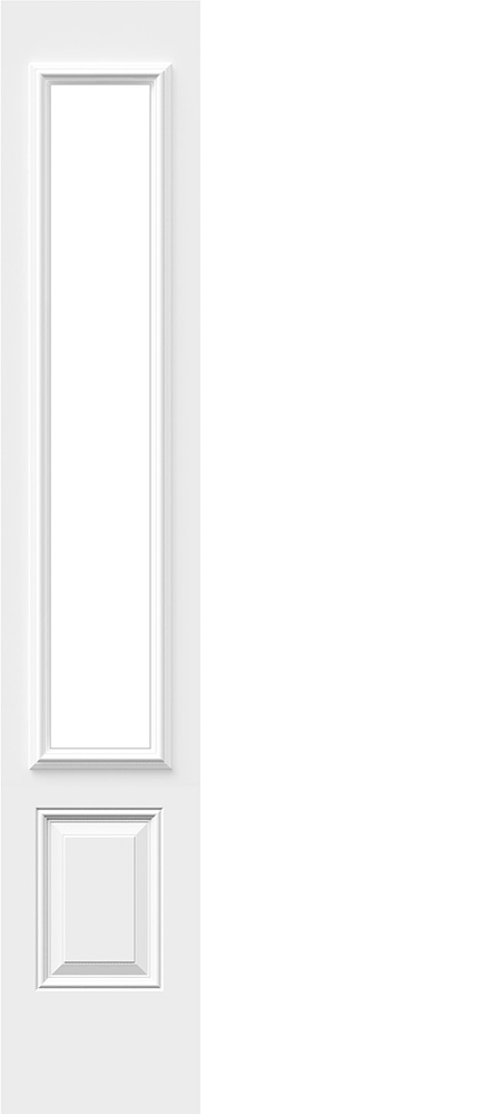 "Novatech-3 Panel Scroll Top- 6'8"" Steel Insulated Shaker"